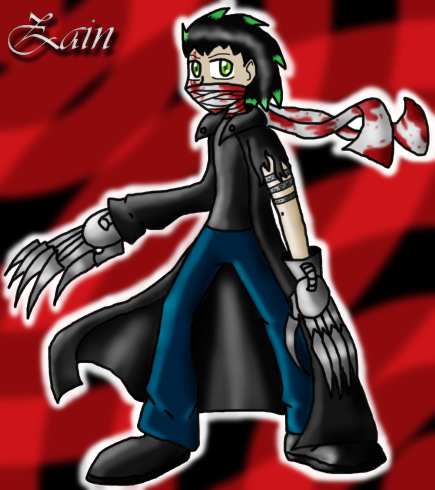 Newer pic of Zain by darkravenofchaos