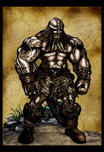 Conan by darnstrong