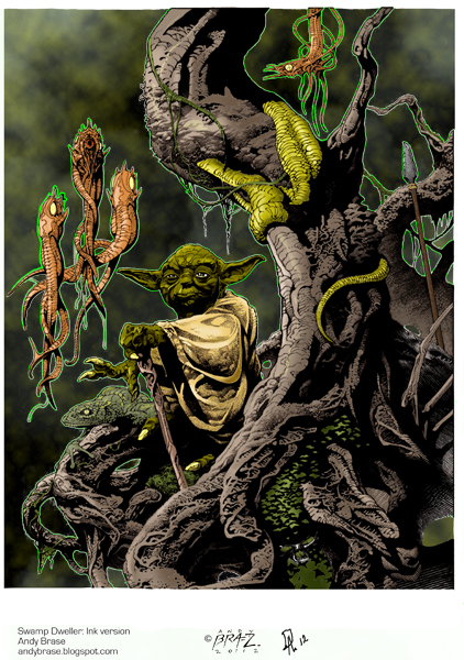 Yoda Swap Dweller. by darnstrong