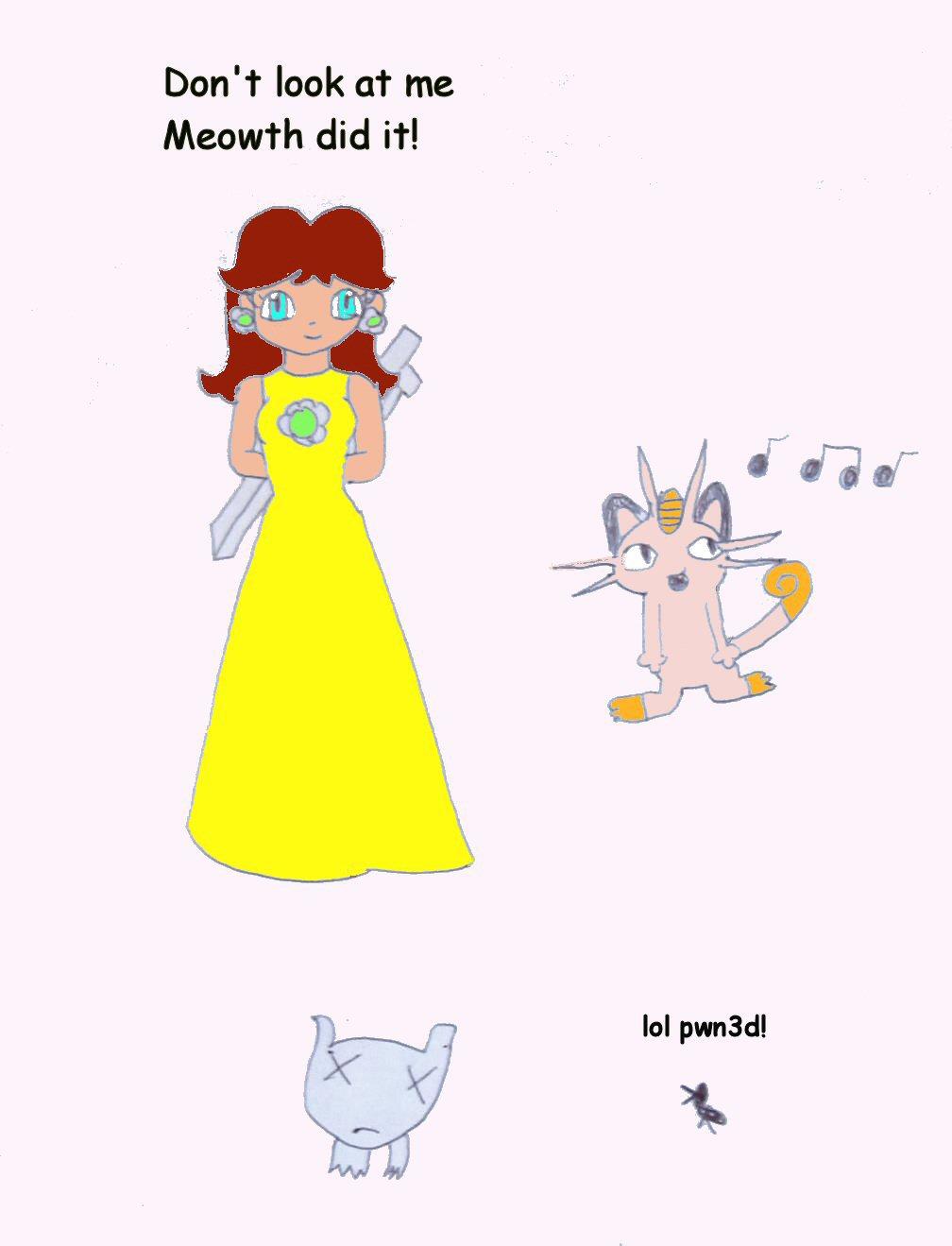 Bad Daisy by deadmewtwo