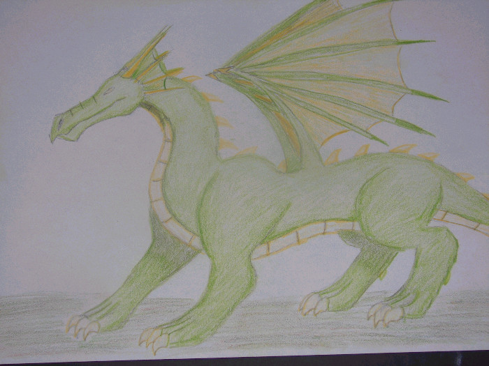 Green Dragon by demon_lord261