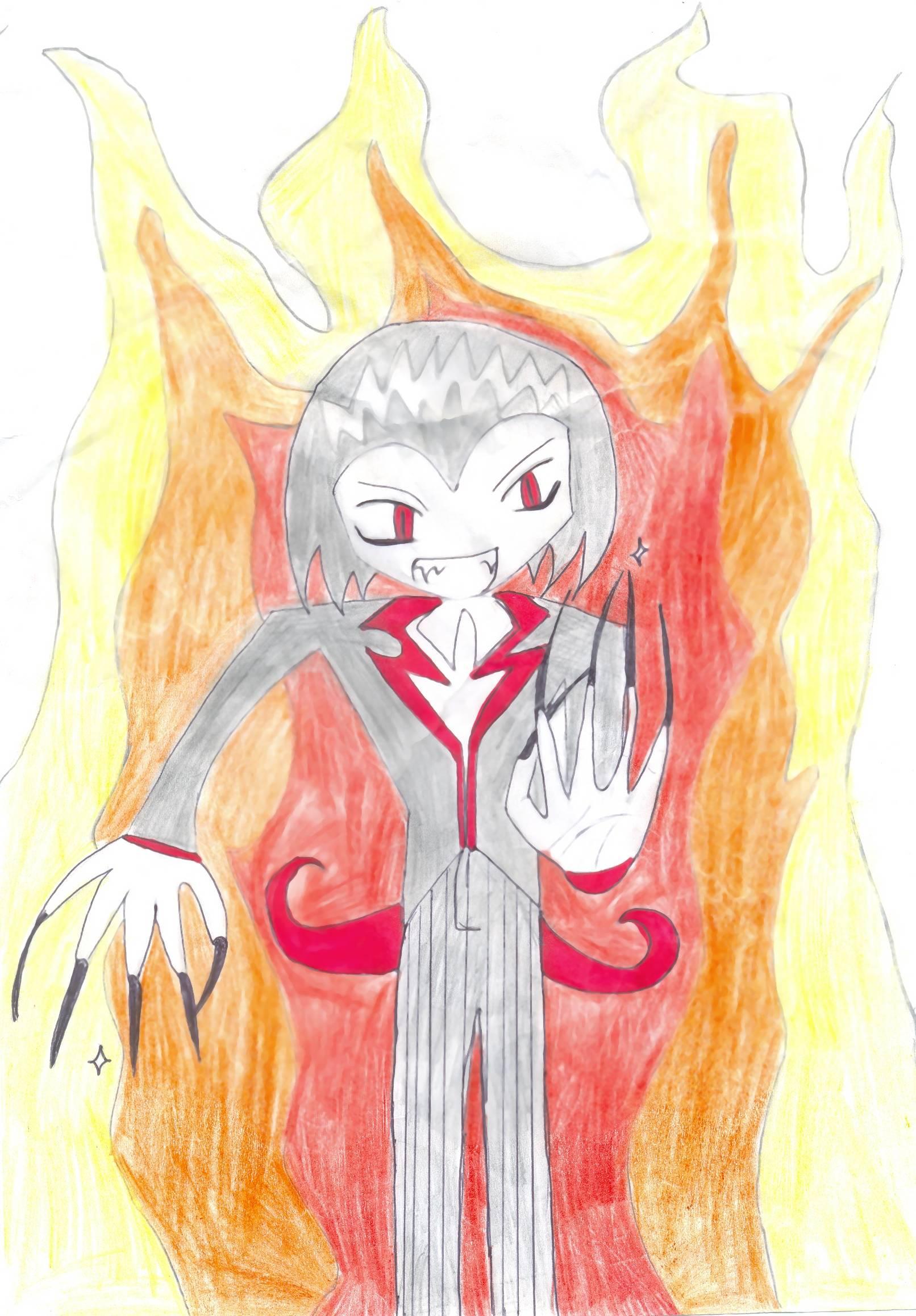 devils flames by demonic_damsel