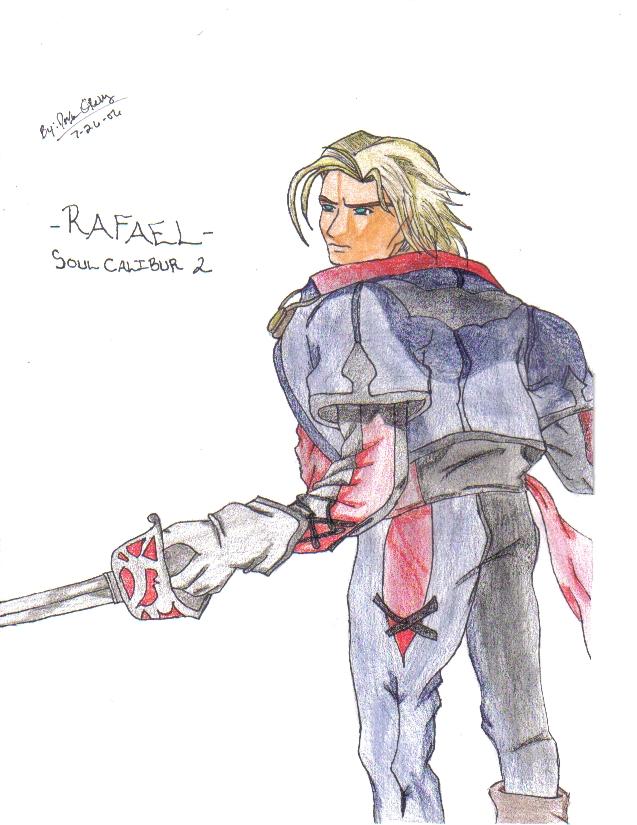 Rafael- Soul Calibur 2(request) by demonofsand