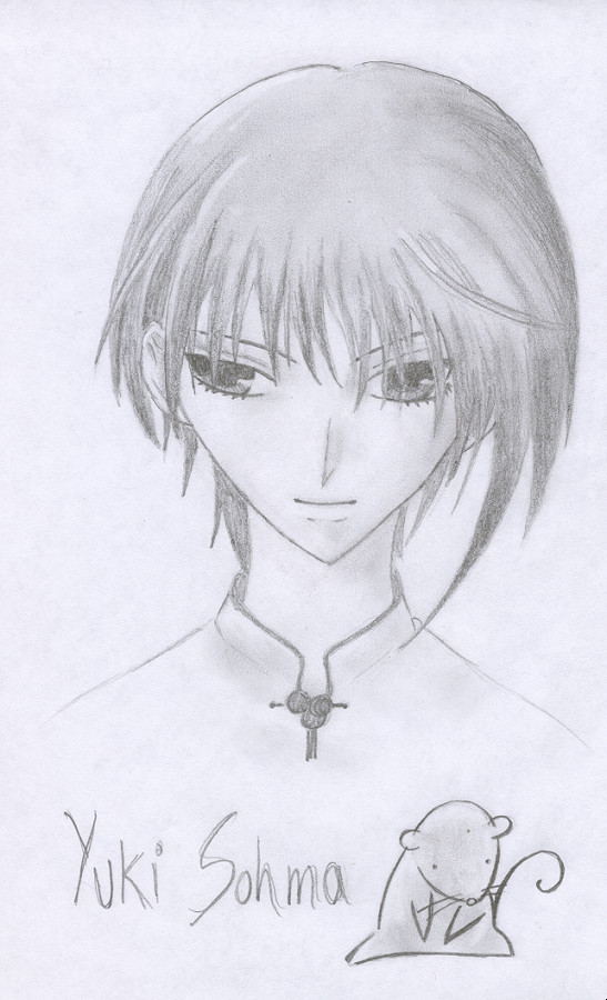 Yuki Sohma by dragonmaniac25