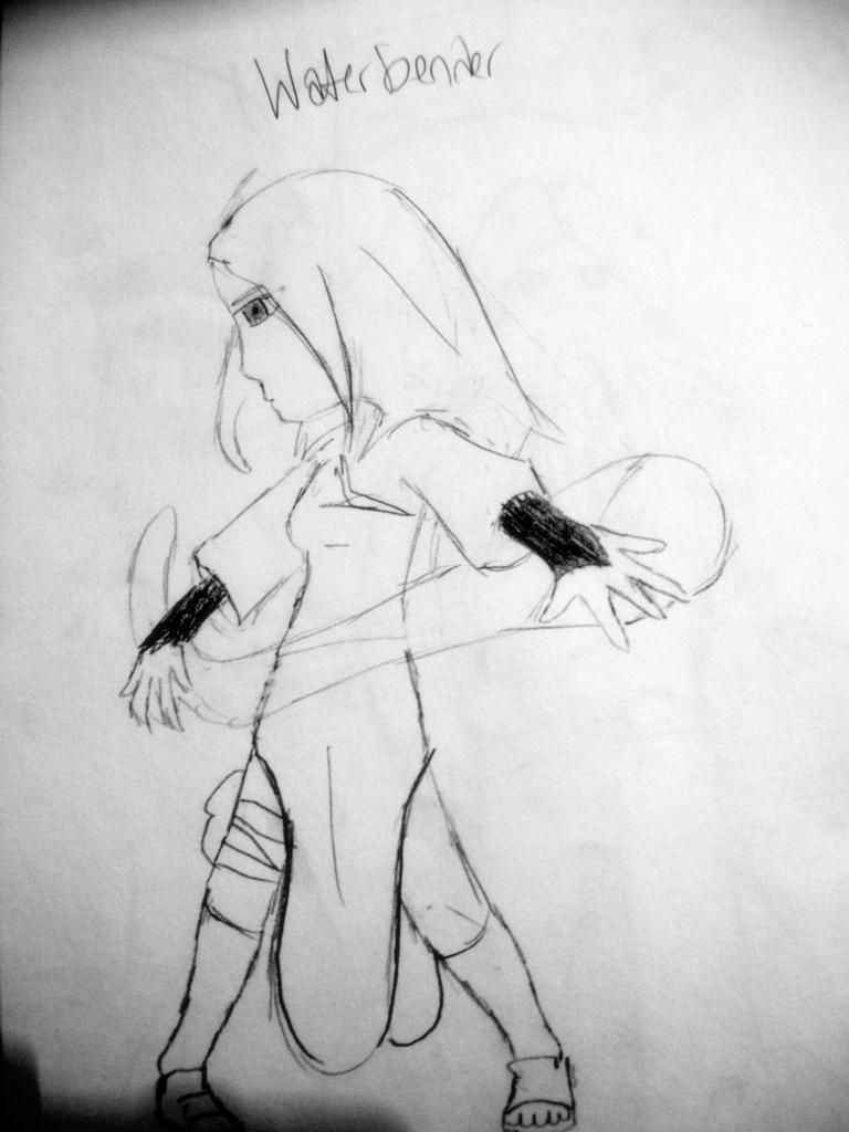 MY WATERBENDER by drawingfreak785