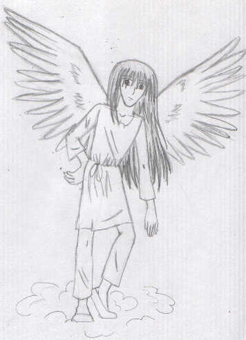 A angel named Sirius by dustbunny