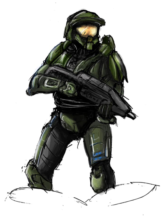 Master Chief by EB91