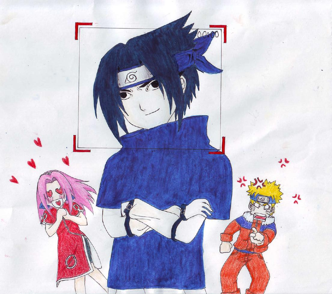 Sasuke Is Cool  ( 1mangalover's contest entry ) by ELIE