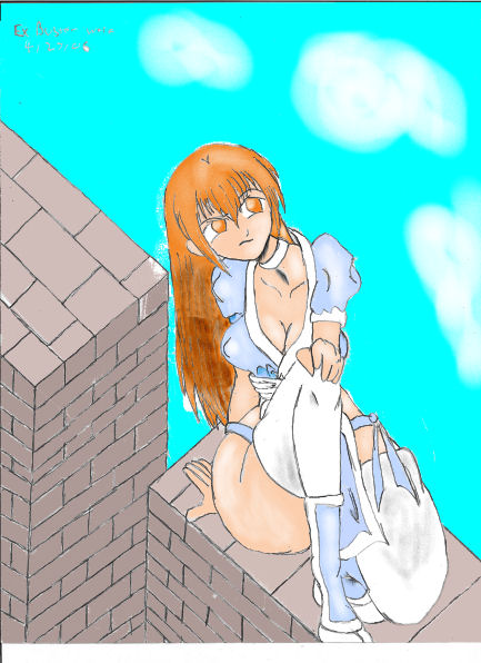 Kasumi EX 3 (on la bricks) by EX-Buster-wolf