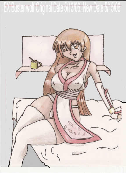 Kasumi EX 4 (In a room) by EX-Buster-wolf