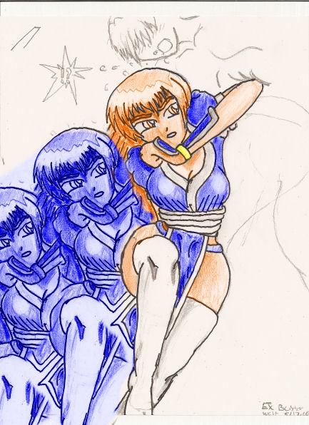 Kasumi EX 6 (Upper Shadow Bash!) by EX-Buster-wolf