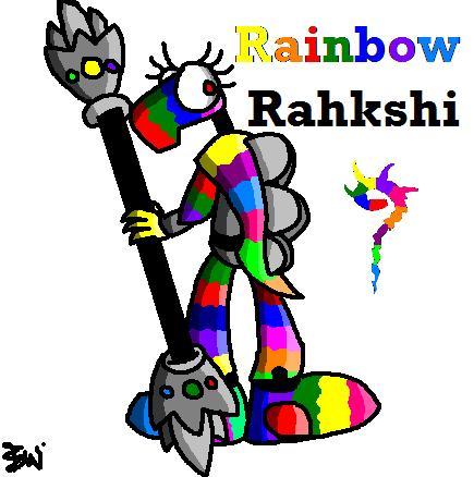 Rainbow Rahkshi #2 by Edge14