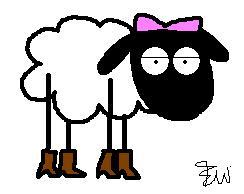 annabelle the sheep by edge14