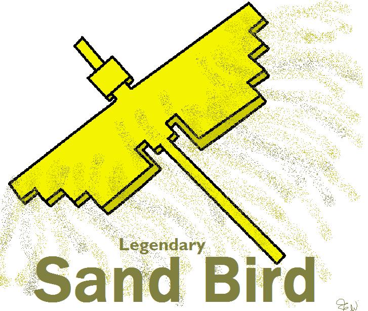 Legendary Sand Bird by Edge14