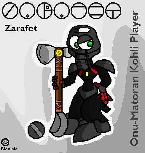 Zarafet - Onu-Matoran Kohli Player by Edge14