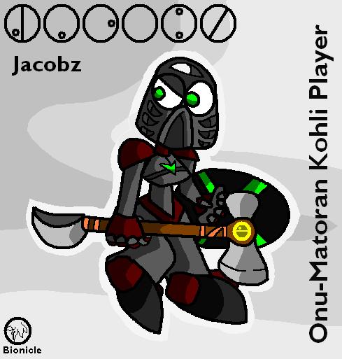 Jacobz - Onu-Matoran Kohli Player by Edge14
