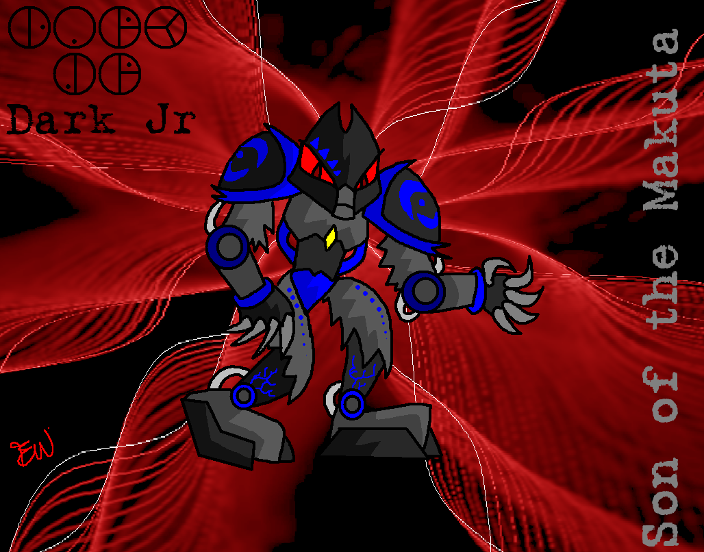Dark Jr: Son of the Makuta by Edge14