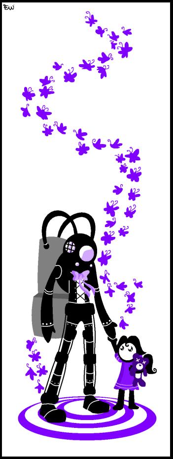Bioshock2: Purple Sisters by Edge14