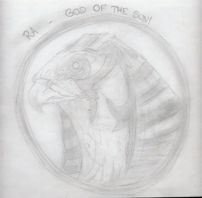 Ra ~ God of the Sun by Egyptian
