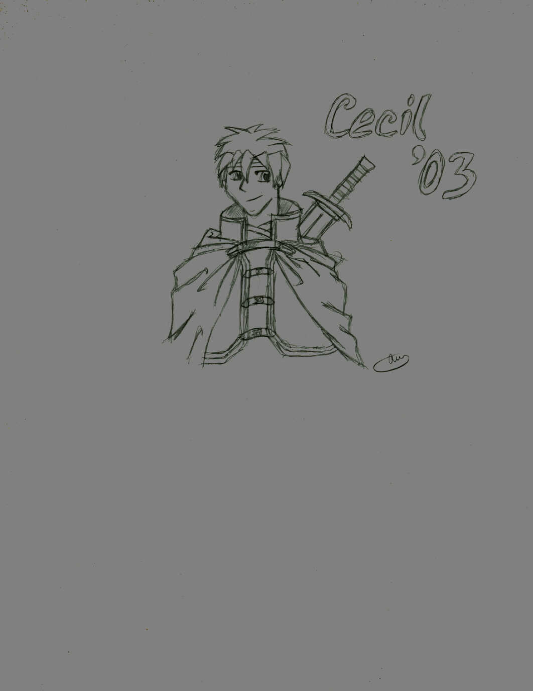 Cecil the Paladin by Elc_the_Pyro