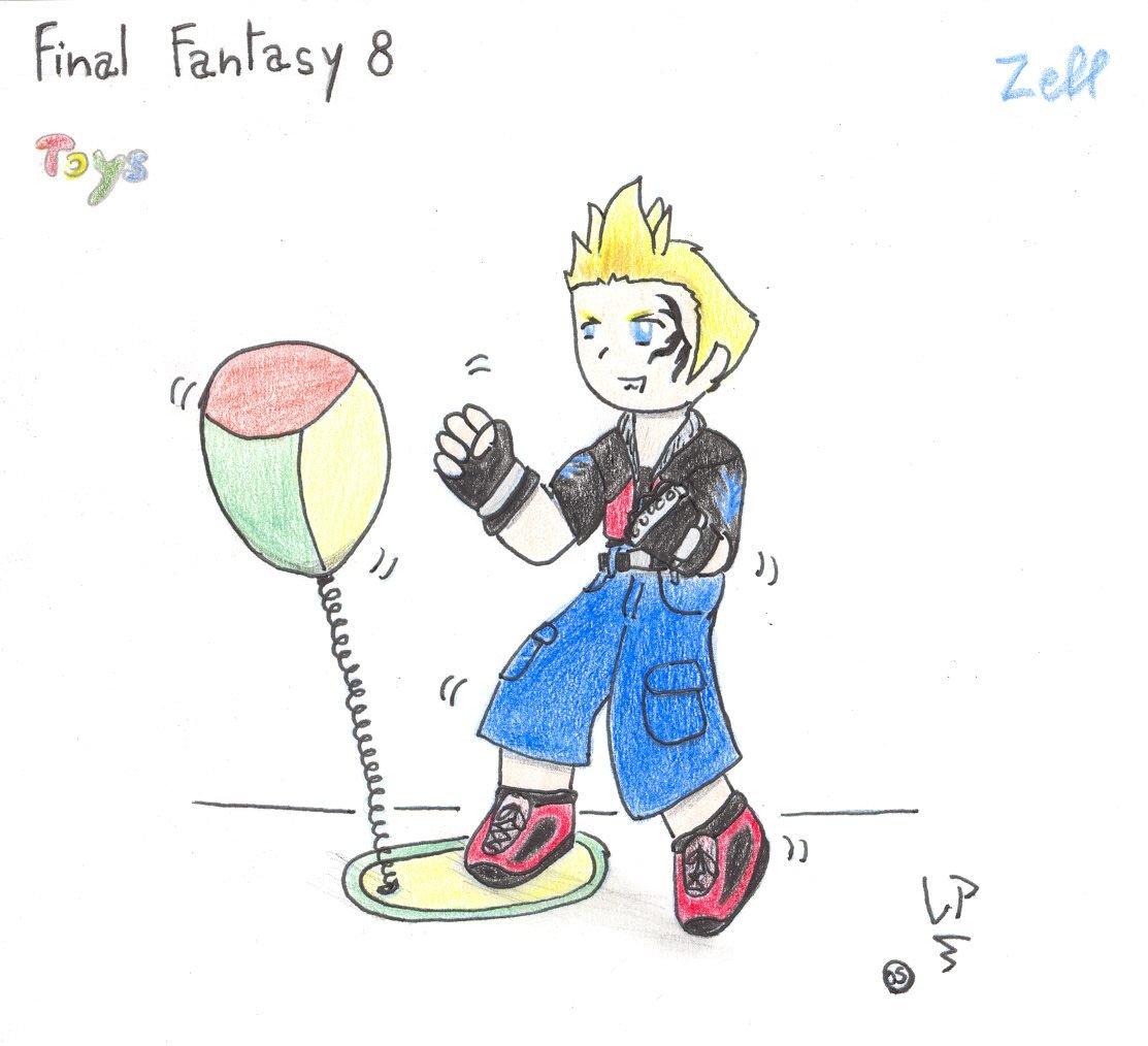 chibi Zell 01-toys by Elfechobit
