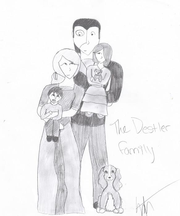 The Destler Family by ElyssaJM