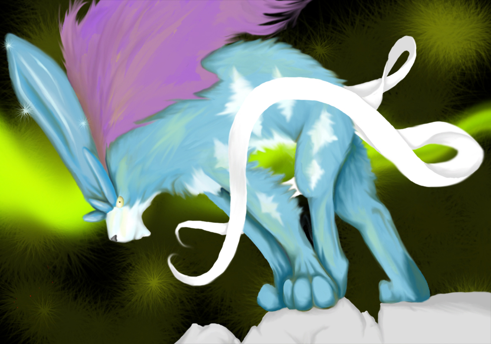 Suicune by EmberGryphon