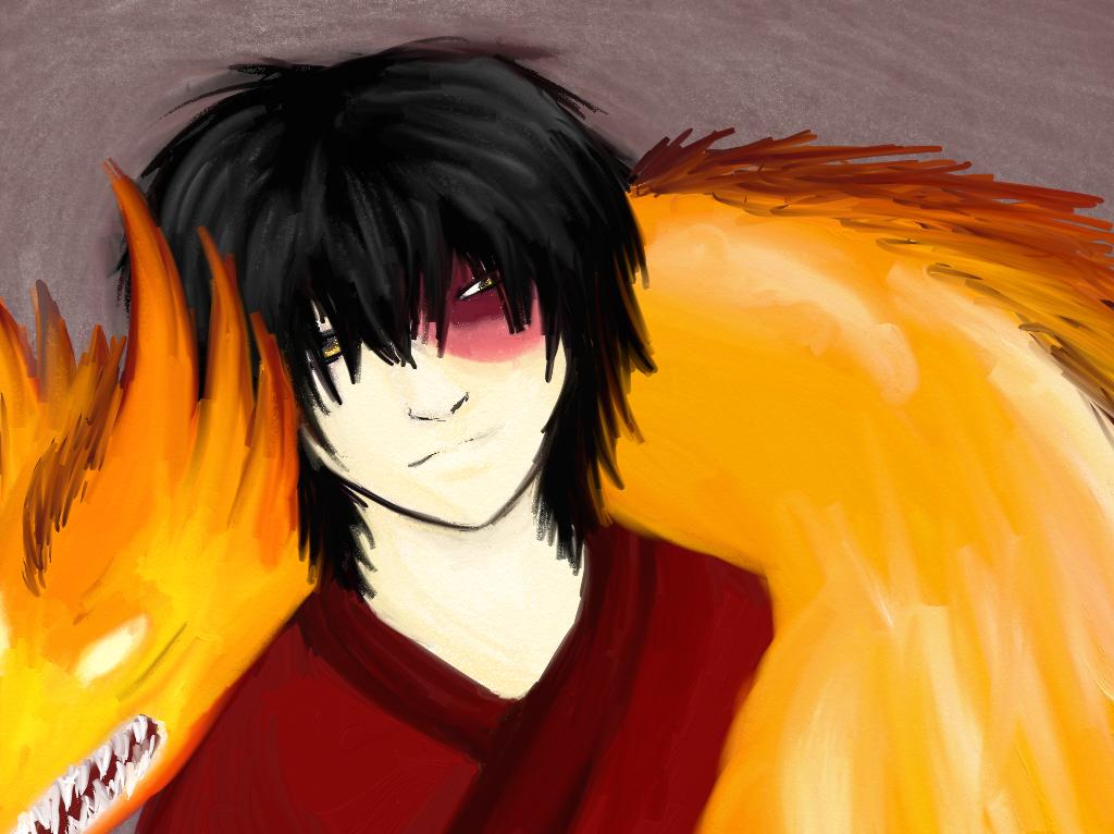 Fire Prince Zuko by Emeraldwolf