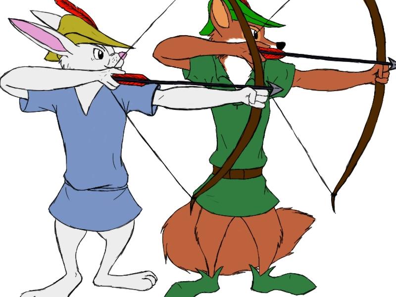 Robin and Skippy by Emeraldwolf