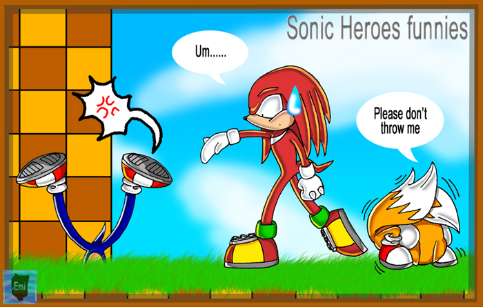 Sonic Heroes Funnie by Emi