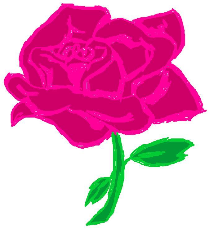 Pinky Rose by EmiKoizumi