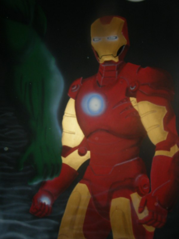 Iron Man by EniagmaticSoldier