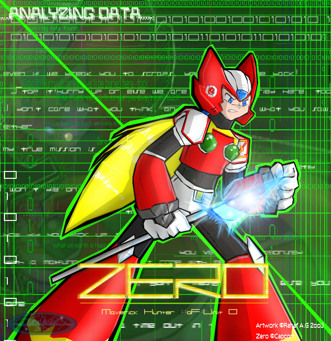 MMX Fanart - Zero by Enoki