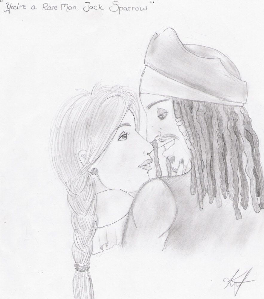 "You're a Rare Man, Jack Sparrow"" by Eriks_Girl"