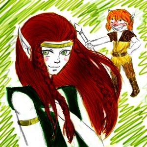 Redlance (and Pike x3) by EternityMaze