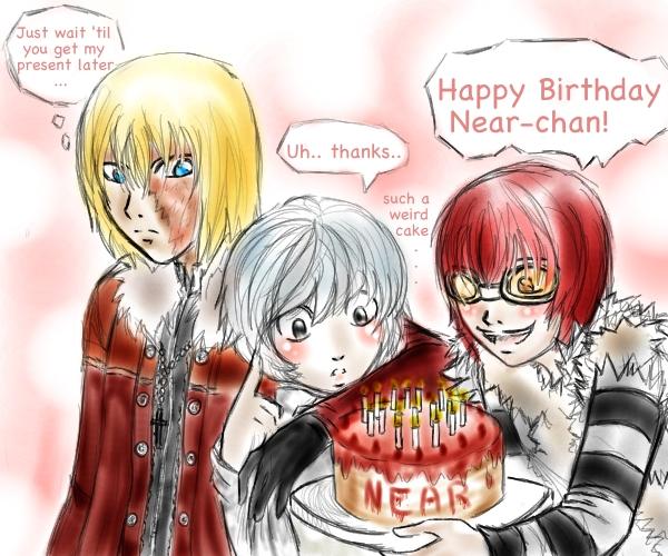 Happy Birthday Near! :3 by EternityMaze