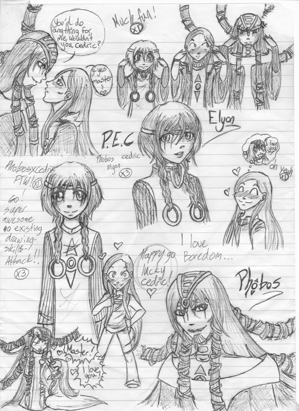 the random WITCH doodles (OLD!) by EternityMaze