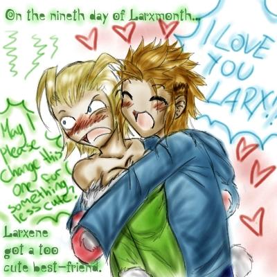 Ninth day of Larxmonth! by EternityMaze