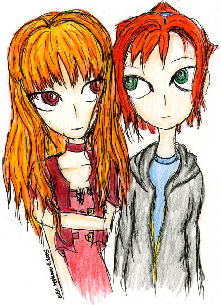Ari & Marlene 3 by Evil_Summoner