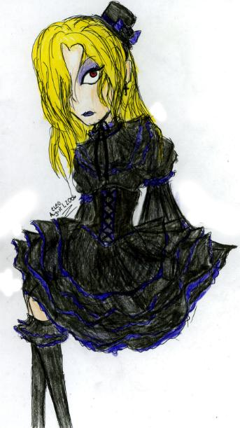 Epros dressed in Gothic Lolita???? by Evil_Summoner