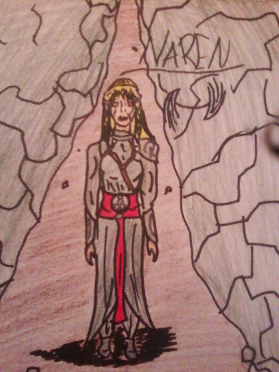 Naren the female assassin by ExmortosSnapeBlack