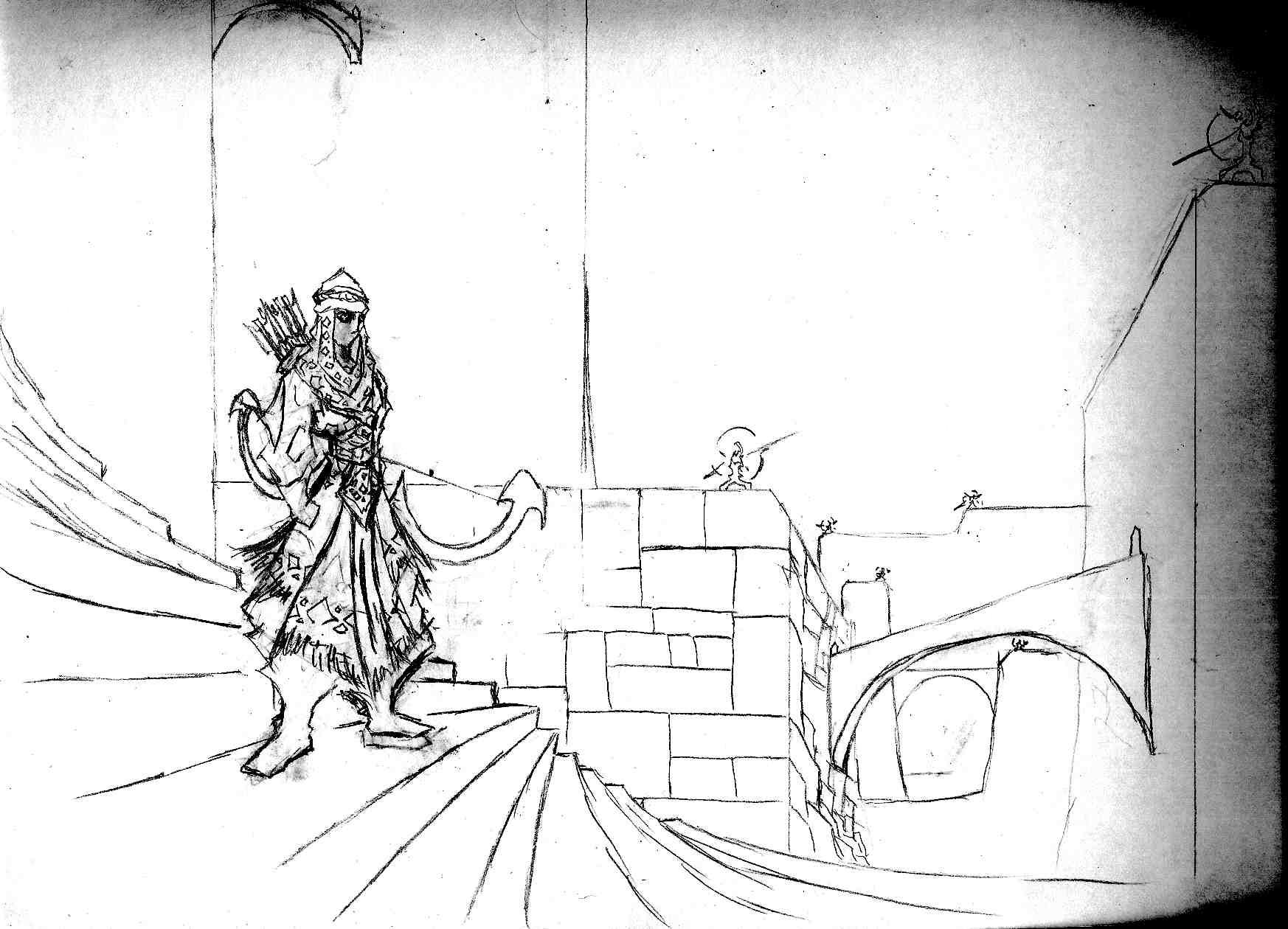 Asur archer by Ezeta-the-Hammeth