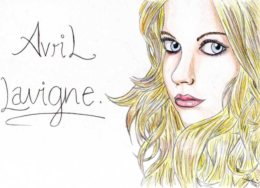 Avril Lavigne. by eLLeAdeLic