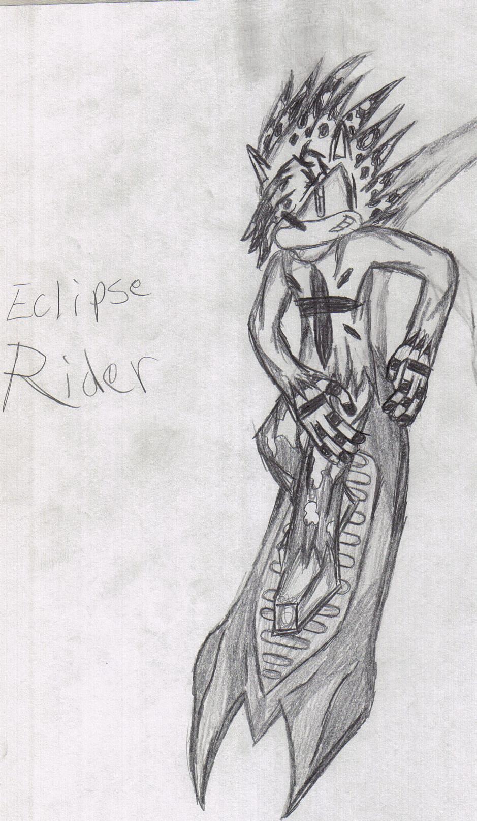Eclipse Rider by eclipsethehedgehog