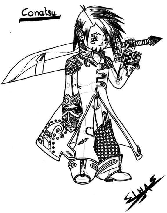 Conatsu, my OC no. 01 by elyo11