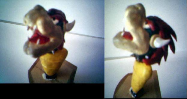 bowser head by emeraldsaber