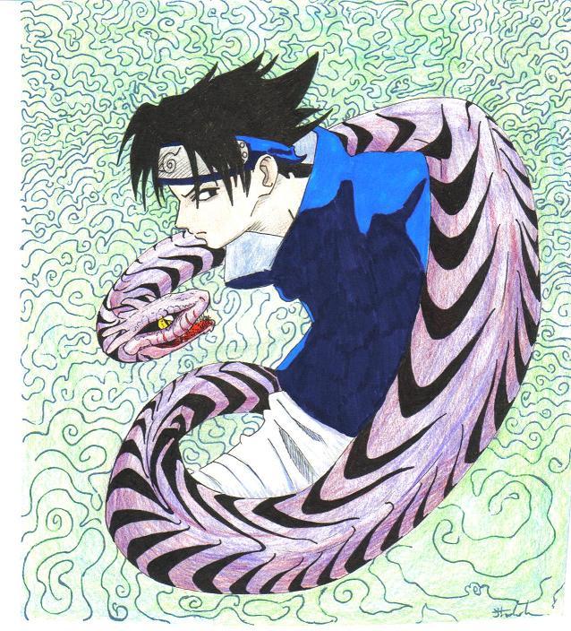Bad Sasuke by emi_red