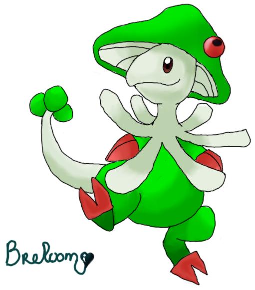Breloom by ennes