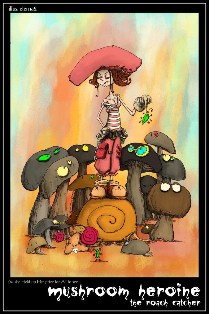 Mushroom Heroine by eterna2