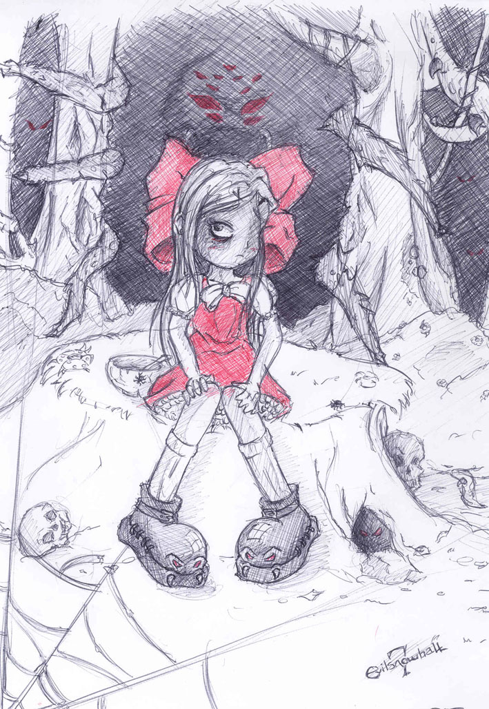 lil miss muffet by evilsnowball7